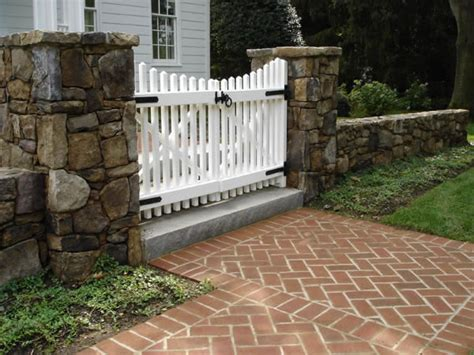 Fieldstone Fireplaces by Fences Amp Gates Land Art Design