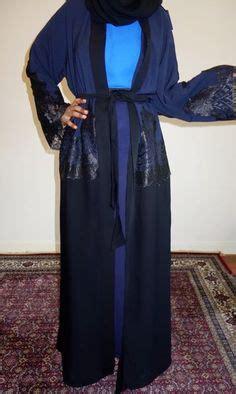Arafah Arafah Kk Dubai Blue abayas spiked up nspired style abayas spikes on