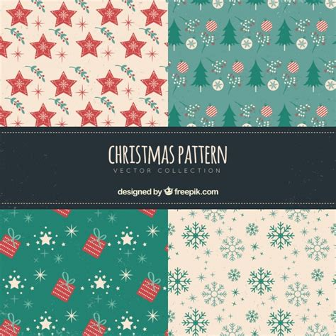 retro christmas pattern vector free pack of retro holiday patterns vector free download