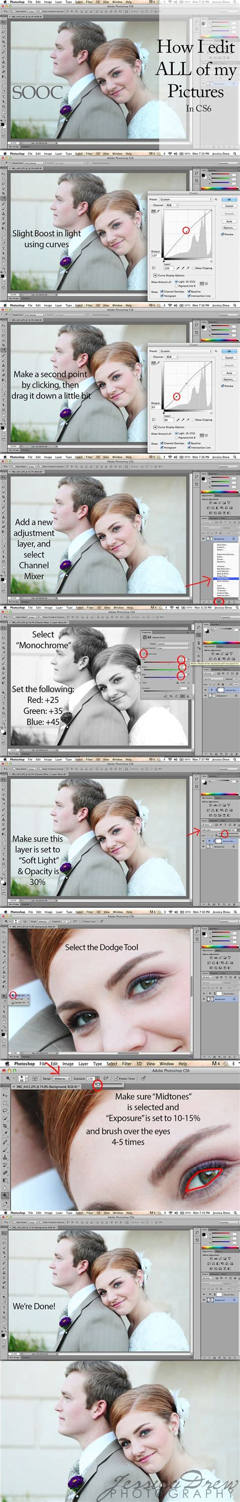 tutorial photo editing using photoshop basic edit in cs6 photography pinterest photoshop