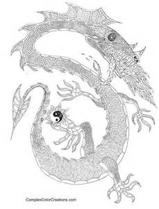 complex coloring pages of dragons pin complex fairy coloring pages on pinterest