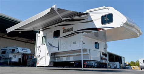 Electric Rv Awnings 2015 Lance Camper Announcements Truck Camper Magazine