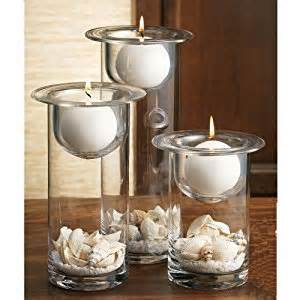 home decor candle holders amazon com home essentials terra set of 3 candle holders
