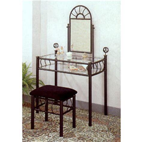 Wrought Iron Vanities by Vanity Sets Black Wrought Iron Sunburst Design Vanity Set