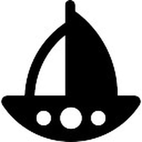 small boat icon small boat sailing icons free download