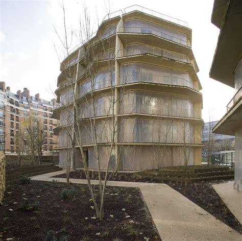 Log House Floor Plans herold 100 social housing jakob macfarlane archdaily