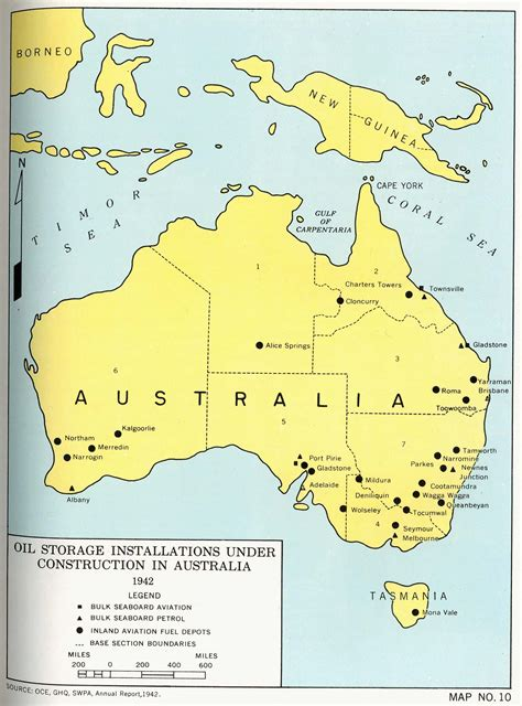 australia pacific map engineers of the southwest pacific 1941 1945 vol 1