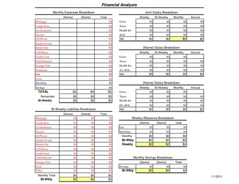 best budget spreadsheet template free printable bi weekly budget worksheet free printable