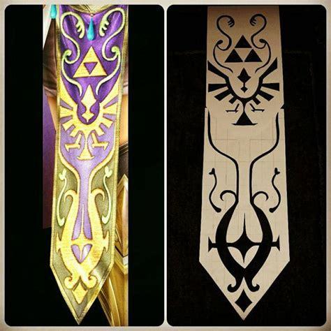 zelda tapestry pattern 2 piece hyrule warrior zelda cosplay stencil pattern zelda