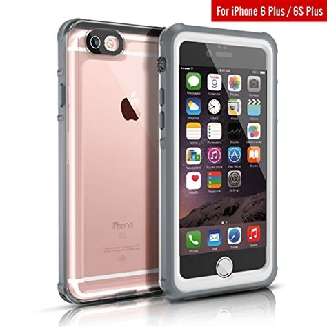 waterproof for iphone 6s plus fitfort clear protective import it all