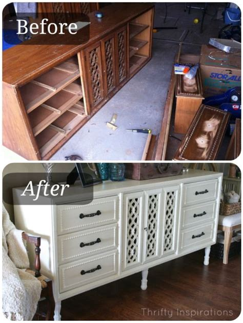 Furniture Blogs | diy painted furniture sideboard before after tutorial