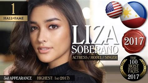 liza soberano claims no 1 spot on the list of the 100