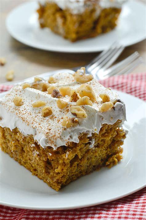 pumpkin cake with cake mix pumpkin spice cake mix
