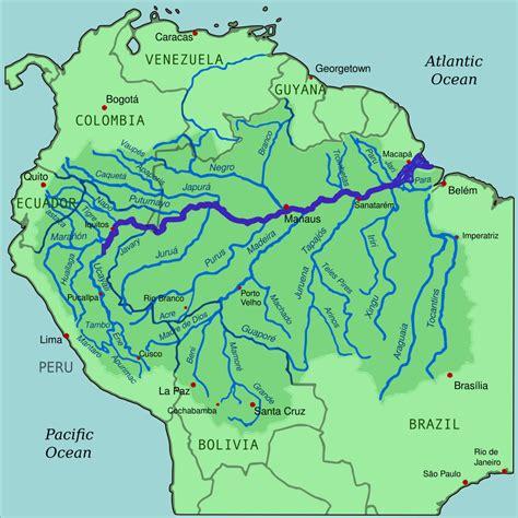 amazon river map original file svg file nominally 1 000 215 1 000 pixels