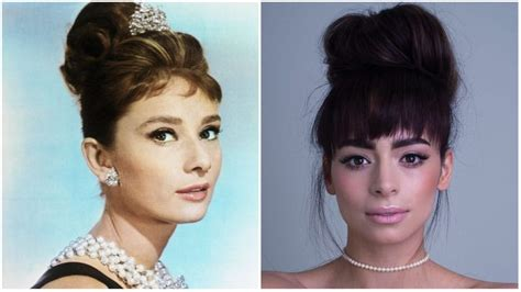 audrey hepburn updo styles the best 60s hairstyles for vintage lovers the trend spotter