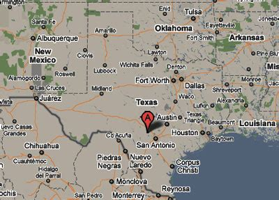 where is bandera texas on map sighting reports 2010