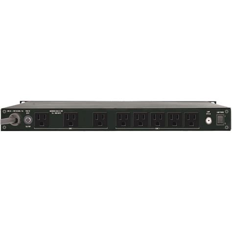 Furman Rack Mount Power by Furman Pl 8c Rack Mount 9 Outlet Power Conditioner 15a