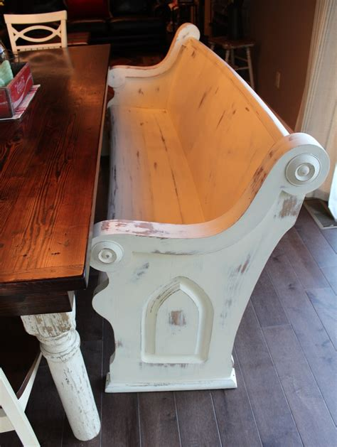 bench pew refinished church pew used as a bench chapels church pinterest