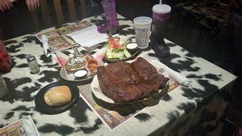 challenge amarillo big texan challenge meal picture of big texan steak