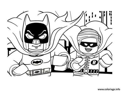 Coloriage DC Comics Super Heroes LEGO Batman Movie 2017 dessin