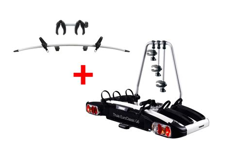 Thule Euroclassic G6 929 1139 by Thule Euroclassic 929 Tow Mounted Bike Carrier 929