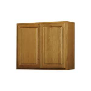 lowes kitchen wall cabinets shop now portland 36 in w x 30 in h x 12 in d stained wheat door wall cabinet at lowes