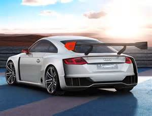 Audi Tt Electric Audi Tt Clubsport Turbo Concept 591 Hp And Electric