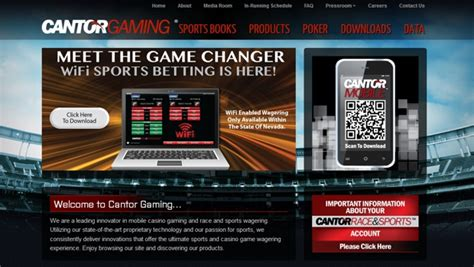cantor gaming bally technologies and cantor gaming sign online content