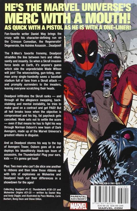 libro deadpool the complete collection 2 di daniel way deadpool the complete collection vol 1 by daniel way 500 00 en mercado libre