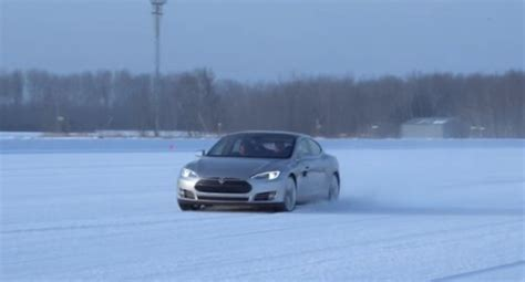 Tesla In Cold Weather Tesla Says Model S Is Remarkable In Cold Weather Releases