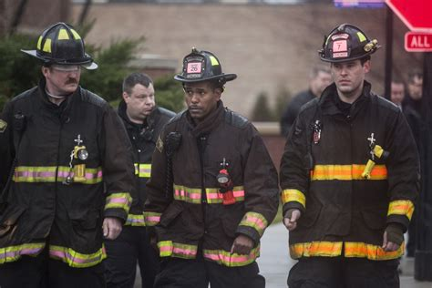 The Firefighter firefighter killed in warehouse where alleged