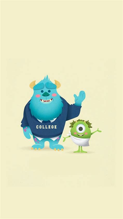 disney iphone wallpaper iphone wallpapers pinterest monsters university iphone 5 wallpaper disney