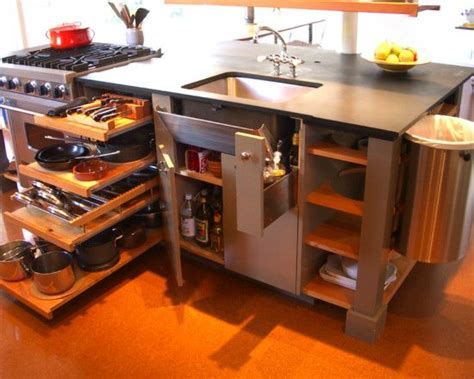 Kitchen Island Storage Storage Solutions 39 Kitchen Island Ideas Valet Storage