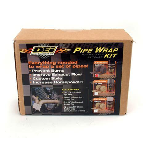 Dei Exhaust Wrap Pelapis Pipa Knalpot design engineering dei 010330 dei motorcycle exhaust pipe wrap kit autoplicity