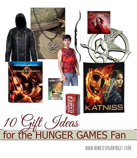 10 gift ideas for the hunger games fan hobbies on a budget