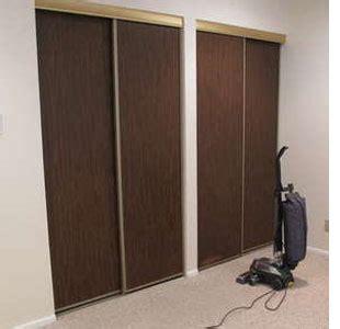home dzine bedrooms how to make folding closet doors