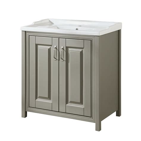 chiltern 800mm traditional grey bathroom storage