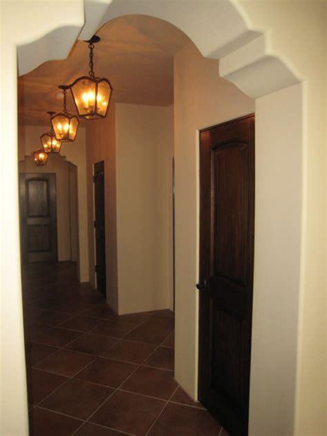 shaped arch hallway mediterranean los angeles