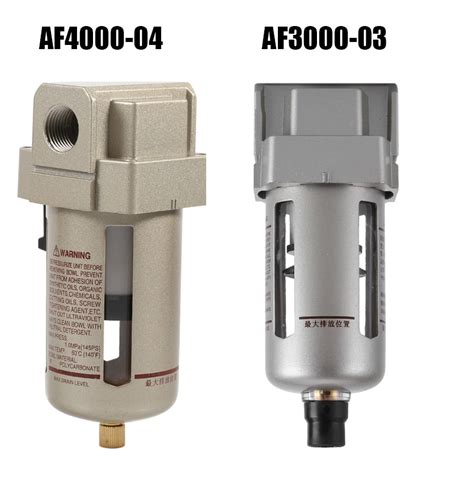 1 4 1 2 particulate air filter water trap regulator separator compressor ebay