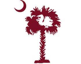 Usc Gamecock Outline by Popular Items For Palmetto Tree Decal On Etsy
