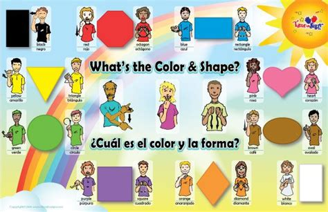 asl colors asl colors chart sign language charts sign