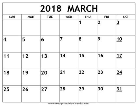 printable calendar 2018 custom printable 2018 march calendar print 2018 calendar
