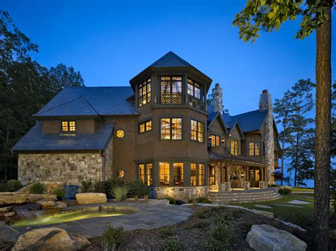 Custom Homes Greenville Sc two lake keowee residences take home 2010 design