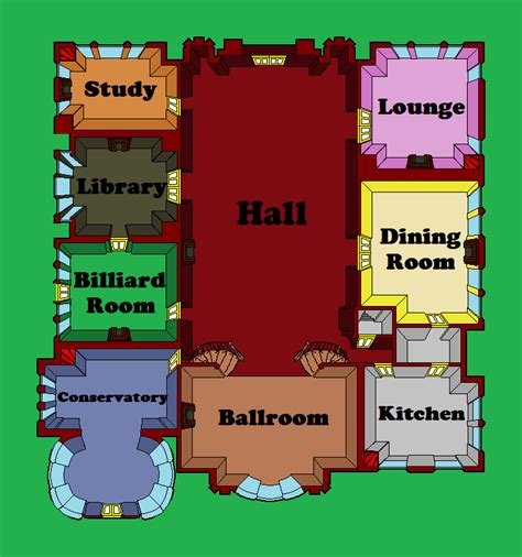 clue mansion floor plan theartofmurder com clue cluedo discussion view