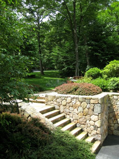 Landscape Architect Westchester County Ny Bedford Westchester County New York Modern Traditional