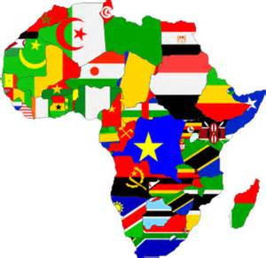 africa map flags africa the best charity
