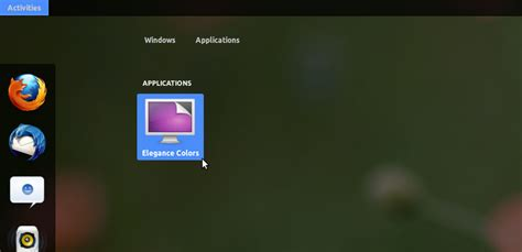gnome color themes elegance colors a gnome shell theme that changes color