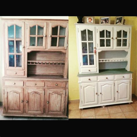 autentico chalk paint antes y despu 233 s con los colores neutro y verde oliva de