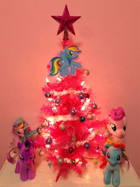 my little pony pink christmas tree ideas for valerie