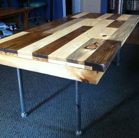 Coffee Table Made Of Pallets 17 Best Images About Coffee Table On Pinterest Galvanized Pipe Reclaimed Wood Coffee Table